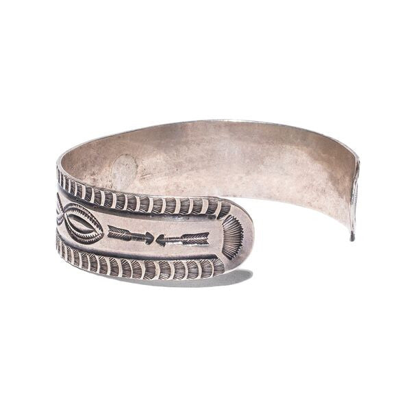 VINTAGE - Navajo Stamped Arrow Cuff - MAN of the WORLD Online Destination for Men's Lifestyle - 2