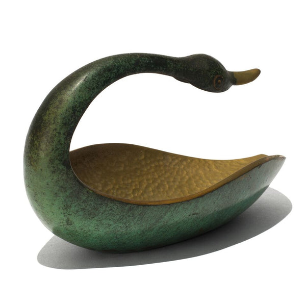 Pal-Bell - Bronze Verdigris Swan - MAN of the WORLD Online Destination for Men's Lifestyle - 6