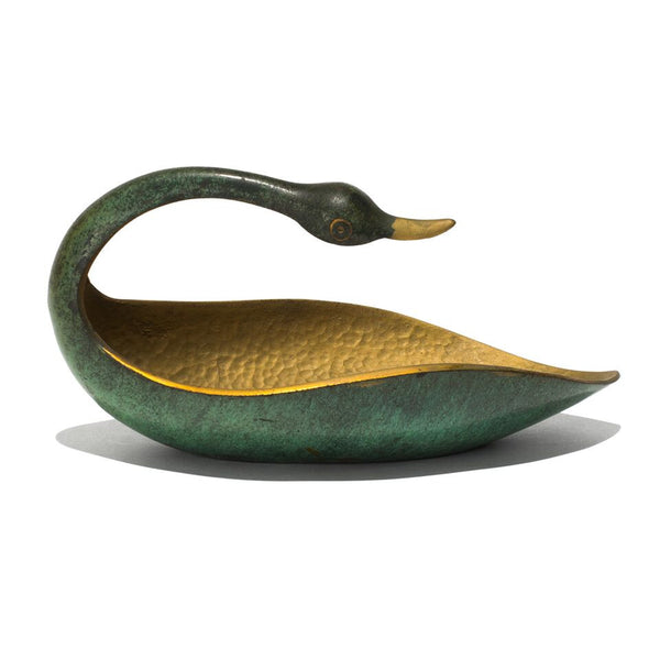Pal-Bell - Bronze Verdigris Swan - MAN of the WORLD Online Destination for Men's Lifestyle - 1