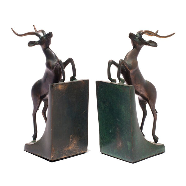 VINTAGE - Gazelle Bookends - MAN of the WORLD Online Destination for Men's Lifestyle - 4