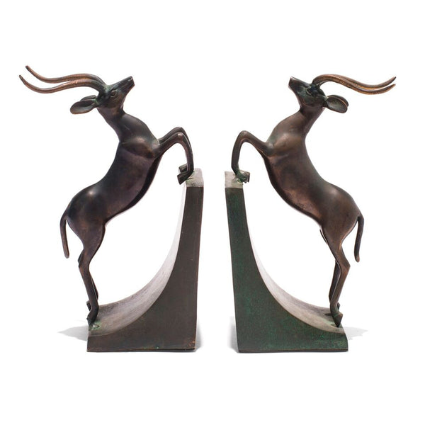 VINTAGE - Gazelle Bookends - MAN of the WORLD Online Destination for Men's Lifestyle - 1