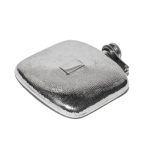 VINTAGE - Hammered Pewter Flask - MAN of the WORLD Online Destination for Men's Lifestyle - 5
