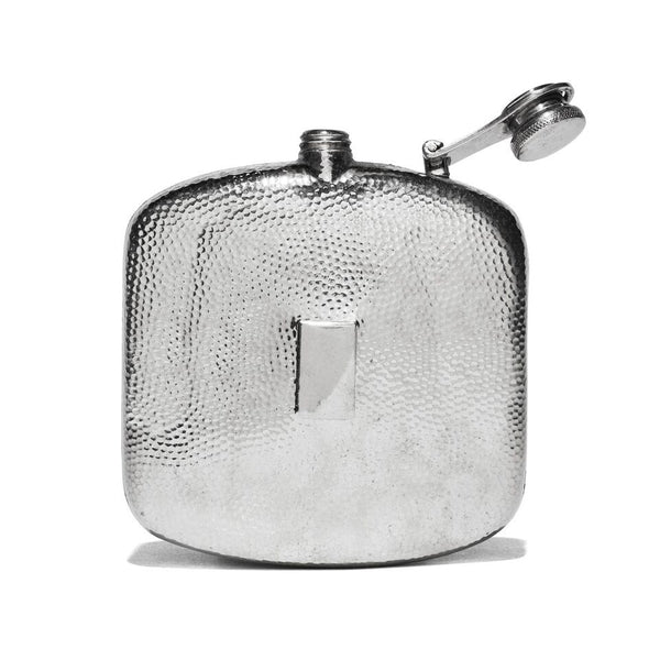 VINTAGE - Hammered Pewter Flask - MAN of the WORLD Online Destination for Men's Lifestyle - 2