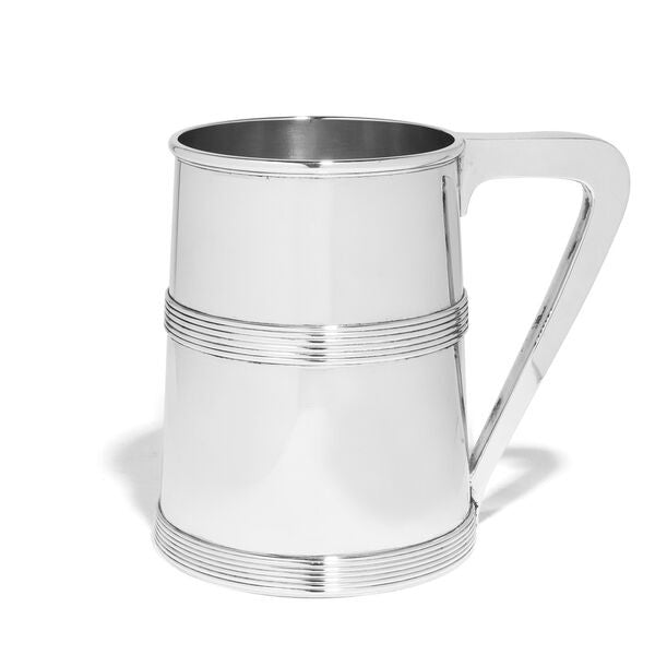 VINTAGE - Howard Sterling Silver Tankard - MAN of the WORLD Online Destination for Men's Lifestyle - 2