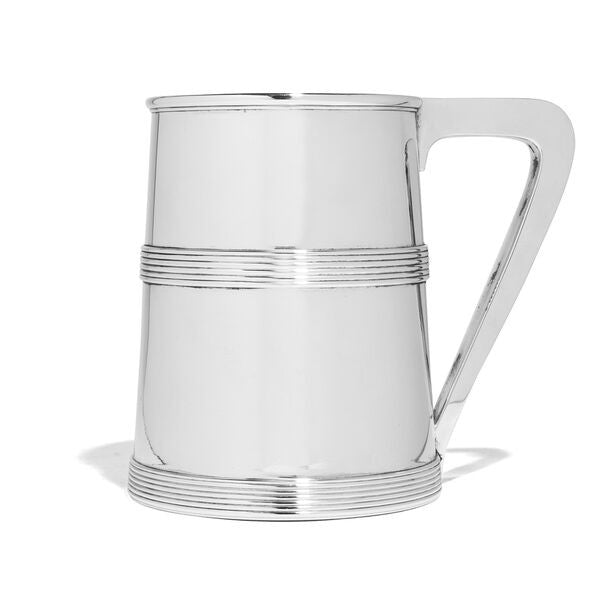 VINTAGE - Howard Sterling Silver Tankard - MAN of the WORLD Online Destination for Men's Lifestyle - 1