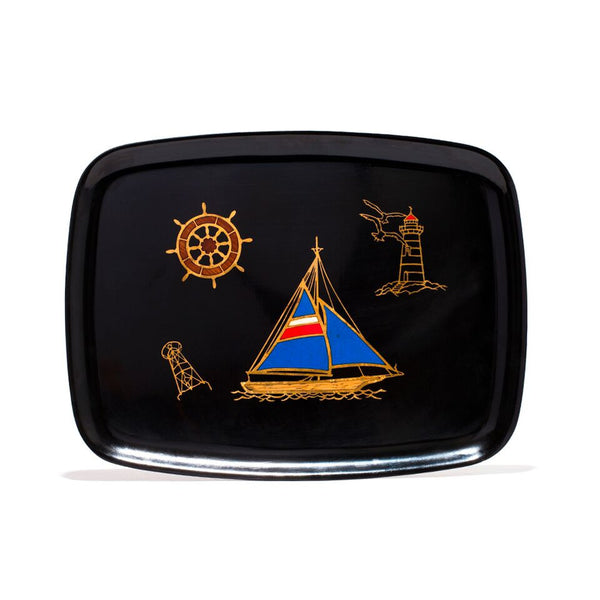 Couroc - Medium Sailboat Tray - MAN of the WORLD Online Destination for Men's Lifestyle - 1
