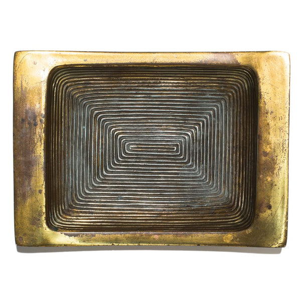 Ben Seibel - Ribbed Brass Ashtray - MAN of the WORLD Online Destination for Men's Lifestyle - 5