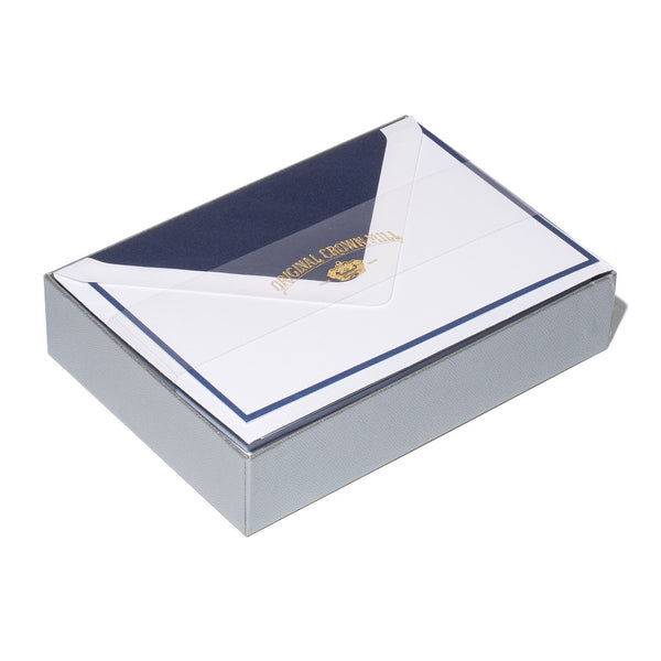 Original Crown Mill - Navy Border Card Set - MAN of the WORLD Online Destination for Men's Lifestyle - 3