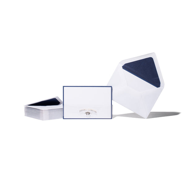 Original Crown Mill - Navy Border Card Set - MAN of the WORLD Online Destination for Men's Lifestyle - 1