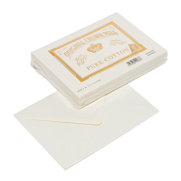Original Crown Mill - Pure Cotton Envelopes (25 Pack) - MAN of the WORLD Online Destination for Men's Lifestyle - 2