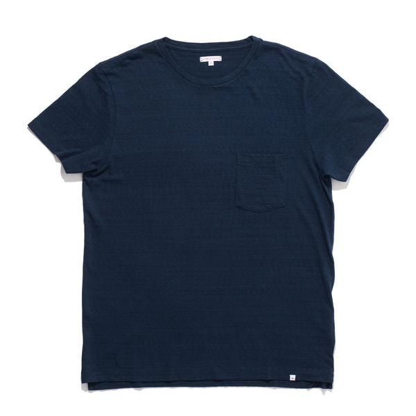 Sammy Slub Pocket Tee - Navy