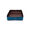 Oscar Maschera - Leather Rectangular Trays - Blue - MAN of the WORLD Online Destination for Men's Lifestyle - 5