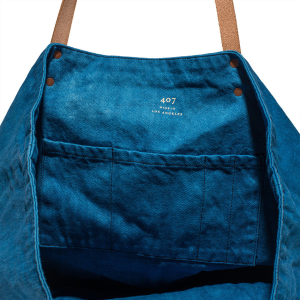Prospective Flow - Japanese Denim Tote Bag - MAN of the WORLD Online Destination for Men's Lifestyle - 4