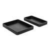 Wooden Nesting Trays - Black