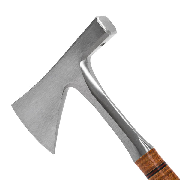 MAN OF THE WORLD - German Leather Handle Tilers' Hatchet - MAN of the WORLD Online Destination for Men's Lifestyle - 3