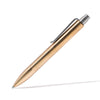 MAN OF THE WORLD - Polished Brass Silent Click Pen - MAN of the WORLD Online Destination for Men's Lifestyle - 1