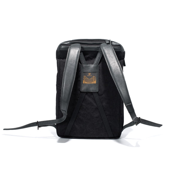 POSTALCO - Three Pack Backpack - Black - MAN of the WORLD Online Destination for Men's Lifestyle - 4