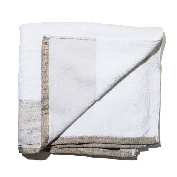 Premium White Cotton Towels