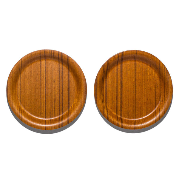 "Saito-Wood - Ayous 4"" Coaster Set - MAN of the WORLD Online Destination for Men's Lifestyle - 2"