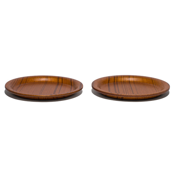 "Saito-Wood - Ayous 4"" Coaster Set - MAN of the WORLD Online Destination for Men's Lifestyle - 3"