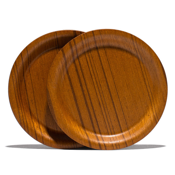 "Saito-Wood - Ayous 4"" Coaster Set - MAN of the WORLD Online Destination for Men's Lifestyle - 5"