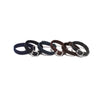 Nylon Bracelet with Buckle Closure - Silver