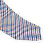 Drake's - Woven Silk Jacquard Tie - Blue & Orange - MAN of the WORLD Online Destination for Men's Lifestyle - 2