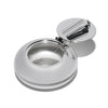 MAN OF THE WORLD - Silver Plated Travel Ashtray - MAN of the WORLD Online Destination for Men's Lifestyle - 1