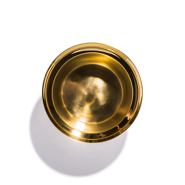 Skultuna - Brushed Brass Planter - Small - MAN of the WORLD Online Destination for Men's Lifestyle - 3