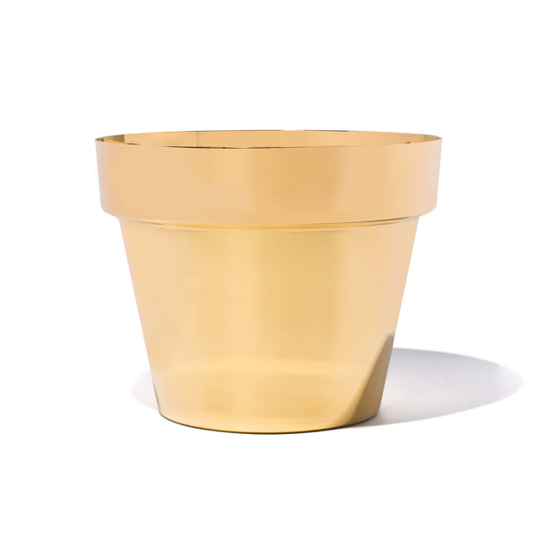 Skultuna - Polished Brass Planter - Medium - MAN of the WORLD Online Destination for Men's Lifestyle - 1