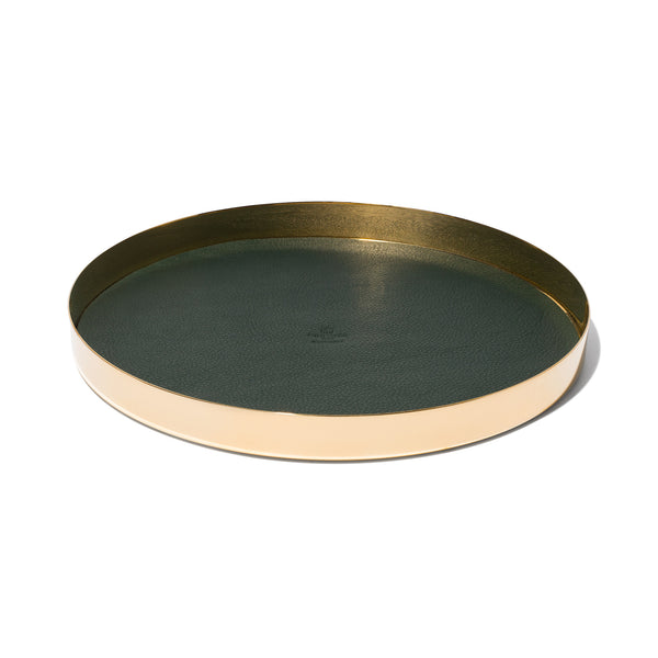 Round Brass Tray - Medium