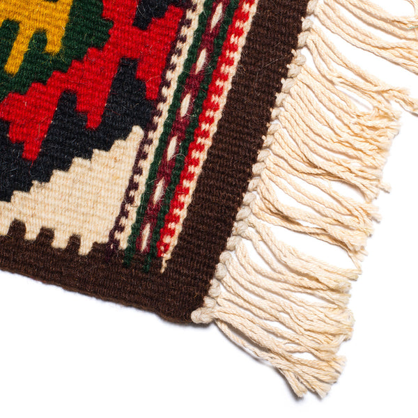 El Paso Saddleblanket Co. - Small Wool Mat - MAN of the WORLD Online Destination for Men's Lifestyle - 2