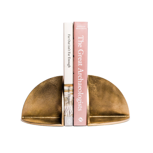 MAN OF THE WORLD - Solid Brass Bookend - MAN of the WORLD Online Destination for Men's Lifestyle - 3