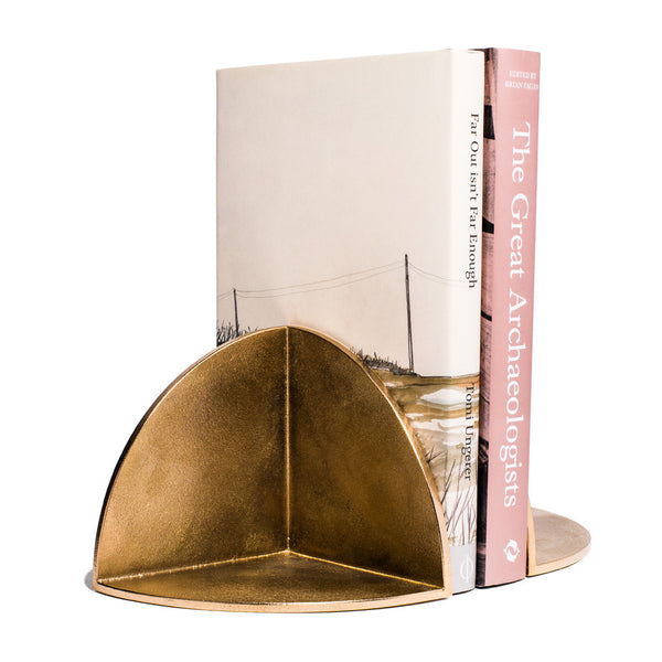 MAN OF THE WORLD - Solid Brass Bookend - MAN of the WORLD Online Destination for Men's Lifestyle - 4
