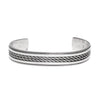Tahe - Sterling Bracelet Cuff - MAN of the WORLD Online Destination for Men's Lifestyle - 1