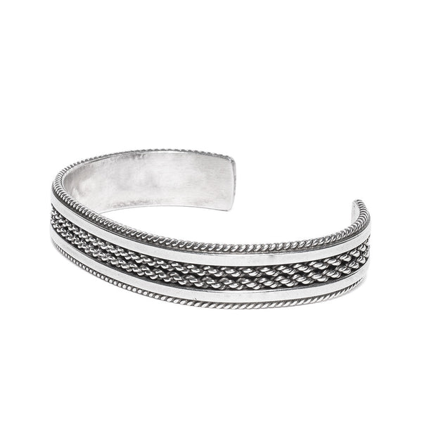 Tahe - Sterling Bracelet Cuff - MAN of the WORLD Online Destination for Men's Lifestyle - 2