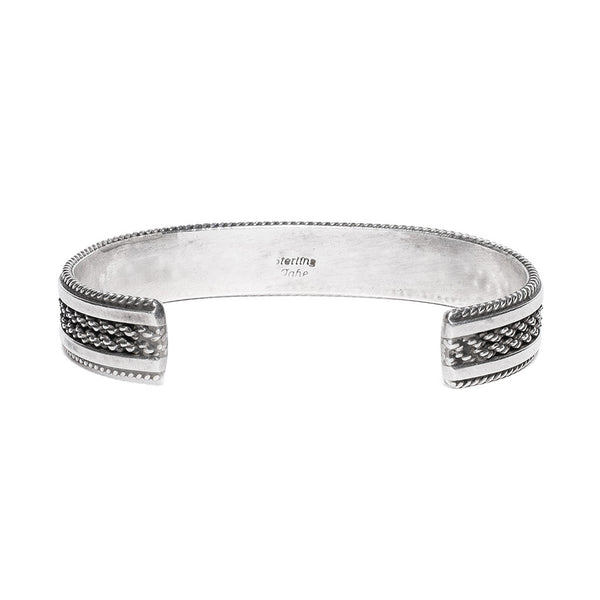 Tahe - Sterling Bracelet Cuff - MAN of the WORLD Online Destination for Men's Lifestyle - 3