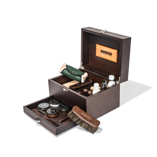 TheLuxer.com - The Complete Shoeshine Kit - Limited Edition - MAN of the WORLD Online Destination for Men's Lifestyle - 1