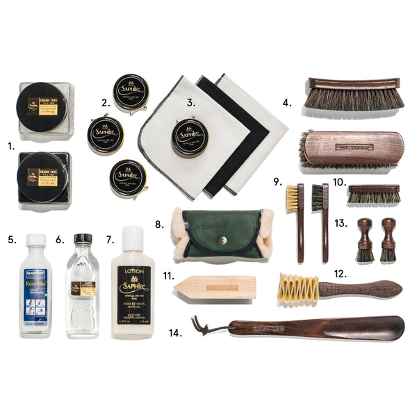 TheLuxer.com - The Complete Shoeshine Kit - Limited Edition - MAN of the WORLD Online Destination for Men's Lifestyle - 2