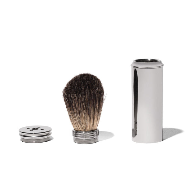 MAN OF THE WORLD - Travel Shave Brush - MAN of the WORLD Online Destination for Men's Lifestyle - 3