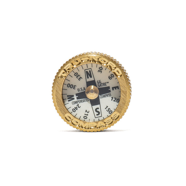 MAN OF THE WORLD - Brass Pocket Compass - MAN of the WORLD Online Destination for Men's Lifestyle - 1