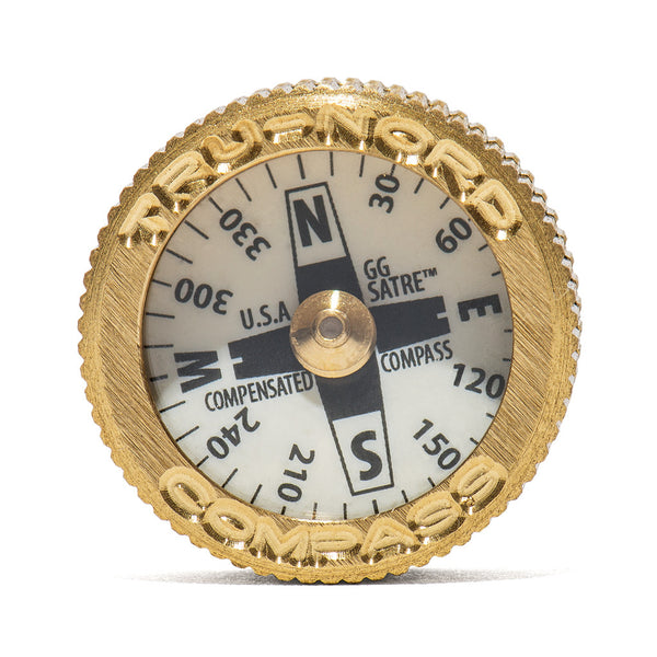 MAN OF THE WORLD - Brass Pocket Compass - MAN of the WORLD Online Destination for Men's Lifestyle - 3