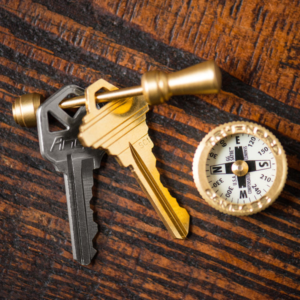 MAN OF THE WORLD - Brass Pocket Compass - MAN of the WORLD Online Destination for Men's Lifestyle - 5