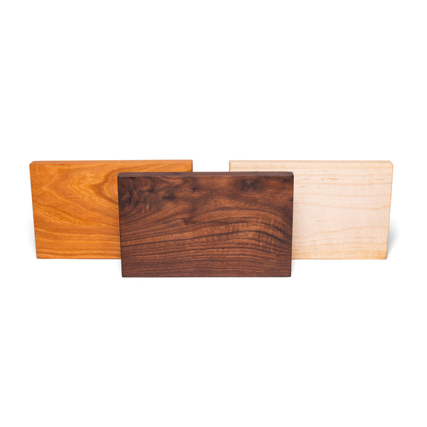 MAN OF THE WORLD - Wooden Cutting Board (Variety pack of 3) - MAN of the WORLD Online Destination for Men's Lifestyle - 3