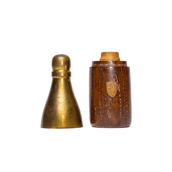 VINTAGE - Brass Bottle-Shaped Cigarette Holder - MAN of the WORLD Online Destination for Men's Lifestyle - 2