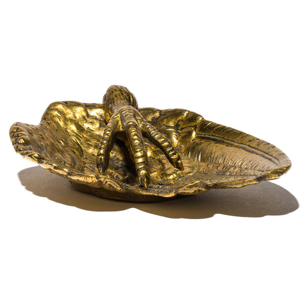 VINTAGE - Brass Claw and Wing Ashtray - MAN of the WORLD Online Destination for Men's Lifestyle - 2