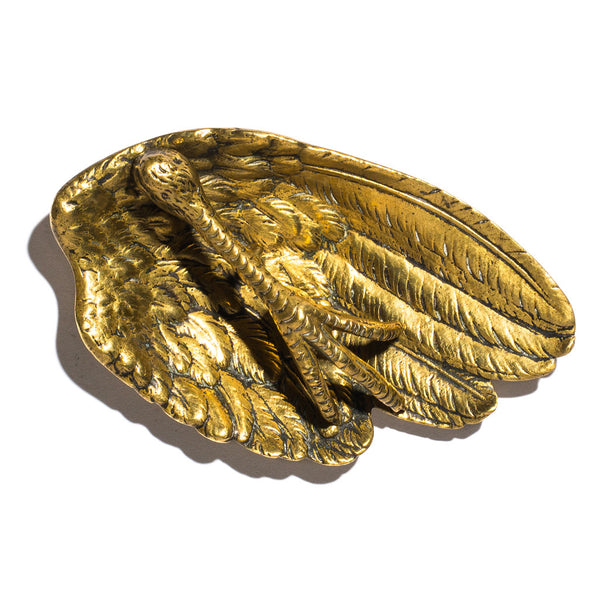 VINTAGE - Brass Claw and Wing Ashtray - MAN of the WORLD Online Destination for Men's Lifestyle - 4