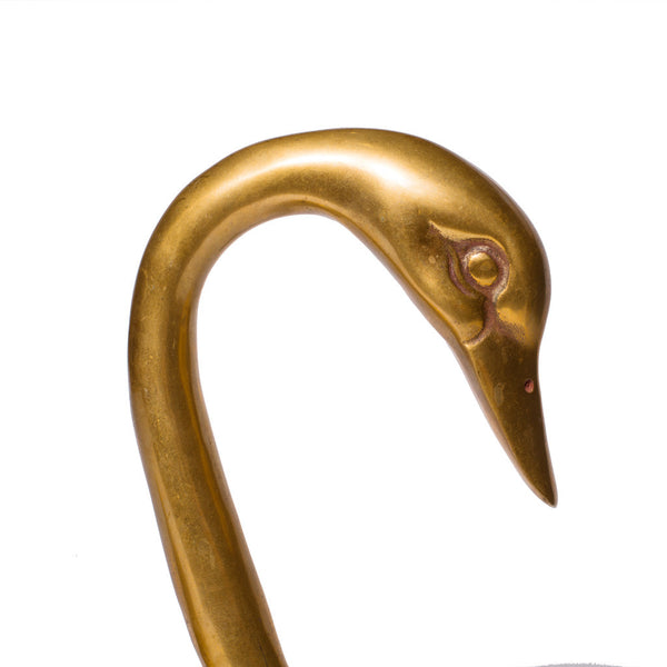 VINTAGE - Brass Swan Statue - MAN of the WORLD Online Destination for Men's Lifestyle - 3