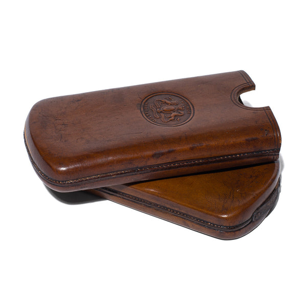 VINTAGE - Leather Cigar Case - MAN of the WORLD Online Destination for Men's Lifestyle - 3