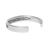 MAN OF THE WORLD - Stamped Cross Hatch Cuff - MAN of the WORLD Online Destination for Men's Lifestyle - 2